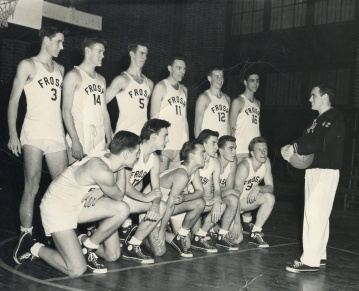 Georgetown Hoyas basketball 1950 1951 Neil Conway Neal Conway Miggs Reilly