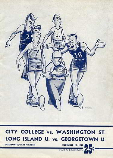 Georgetown Hoyas basketball 1950 Madison Square Garden Neil Conway Neal Conway