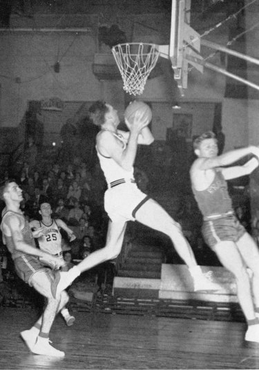 Georgetown Hoyas basketball 1950 1951 Neil Conway Neal Conway