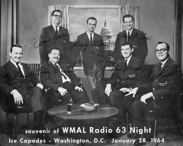 WMAL Harden & Weaver Felix Grant 1964