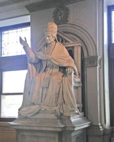 Pope Leo XIII, McMahon Hall