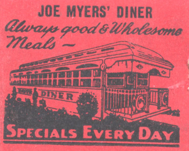 Joe Myers Diner, Lancaster PA