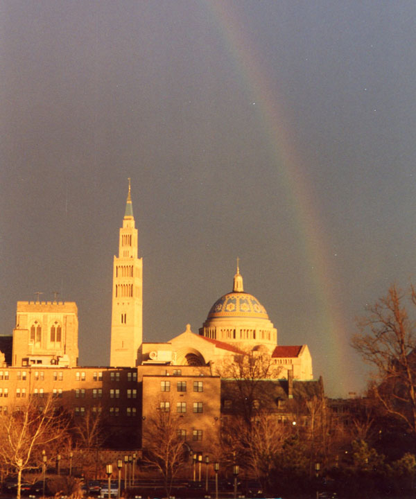 National Shrine Rainbow