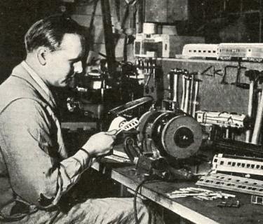 Edwin P. Alexander Modelmaker
