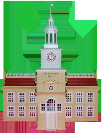 Plasticville Town Hall