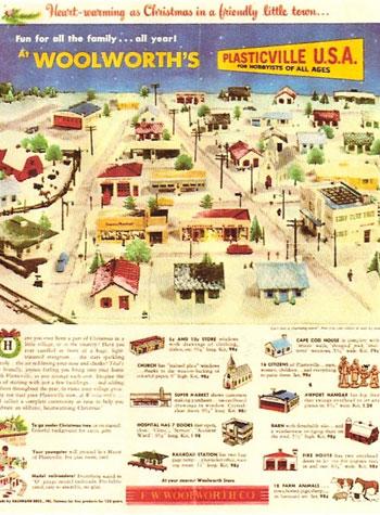 Woolworth Plasticville Ad
