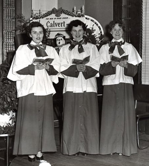 Regina Bradshaw Jean Conway Choir on Wilkes Barre Radio WBRE WBAX